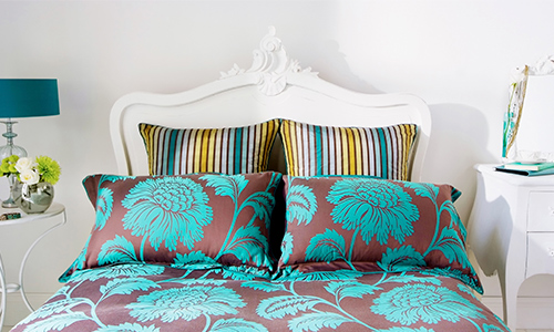 Interior Design Services Custom Bedding, Pillows and Trimmings