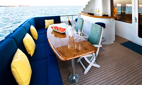 Interior Design Services Yacht and Boat Upholstery